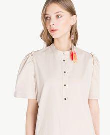 Kleid aus Popeline Dune Frau TS821R-04
