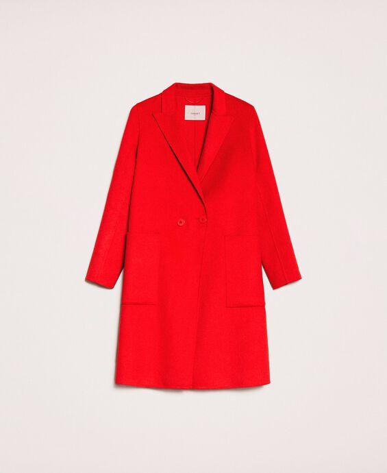 Пальто из двустороннего сукна