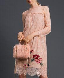 Bolso bandolera de piel sintética Rosa «Peach» Mujer 192LL7ZNN-0S
