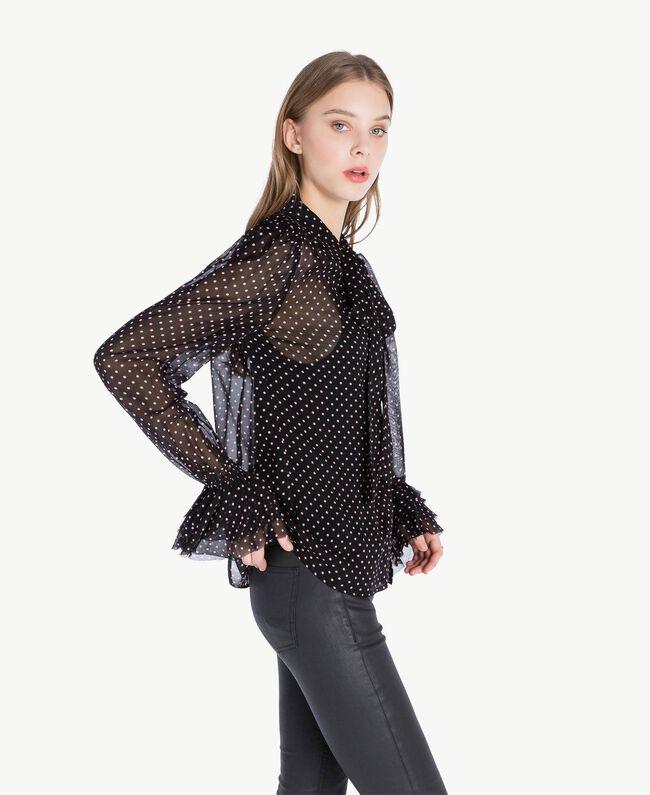 ever popular crazy price top brands Chemise pois Femme, Noir | TWINSET Milano