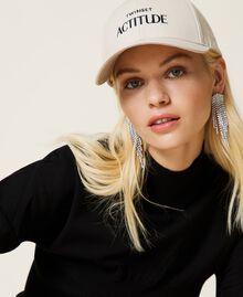"""Cappello da baseball con logo Beige """"Bone"""" Donna 212AA4110-0S"""