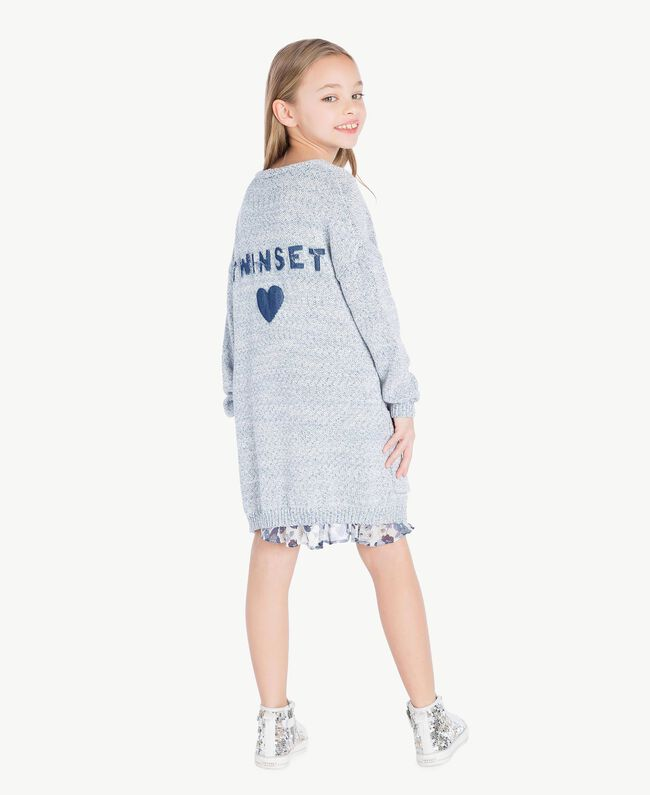 Cardigan long Bleu Infini Enfant GS83CB-04