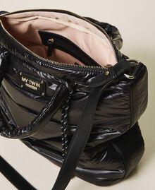 Стеганая сумка-шоппер с логотипом Черный женщина 202MO8021-06