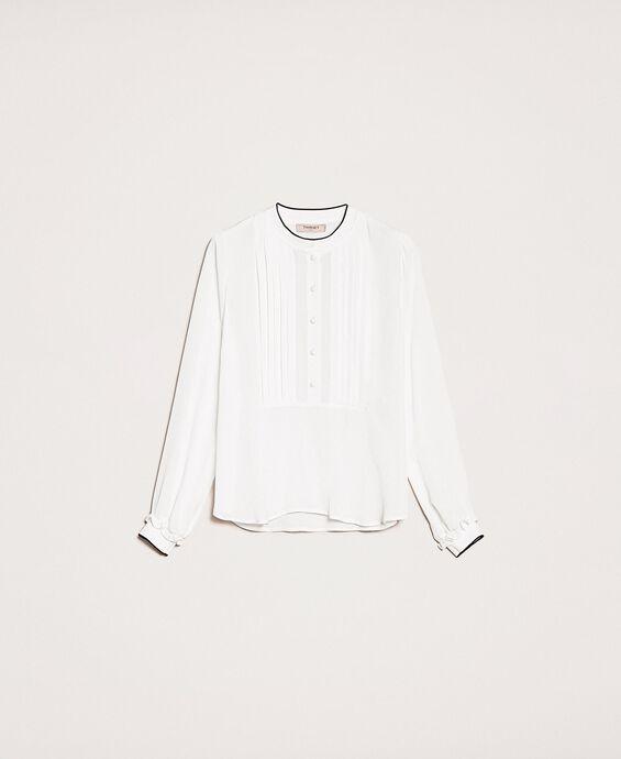 Hemd aus Crêpe de Chine