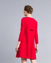 A-Linien-Kleid aus Interlock-Jersey Venedigrot Frau PA821U-03