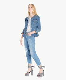 Denim jacket Denim Blue Woman JS82T1-05