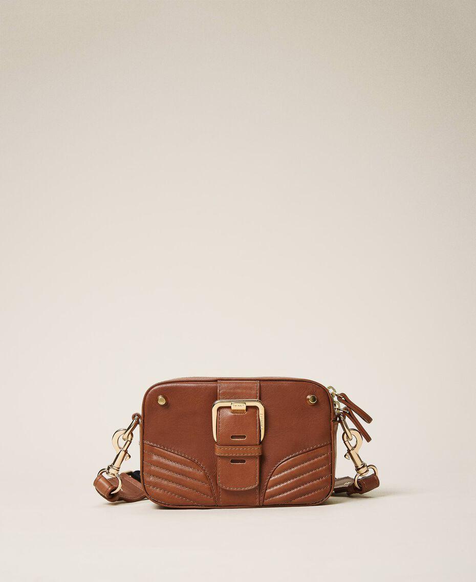 Petit camera bag Rebel avec bandoulière Cuir Femme 202TB723R-02