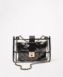 Large shoulder bag with pochette White Woman 201TA7181-01