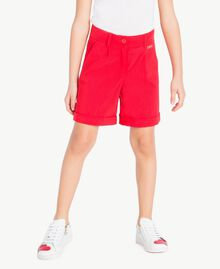 Cotton shorts Pomegranate Red Child GS82HN-02