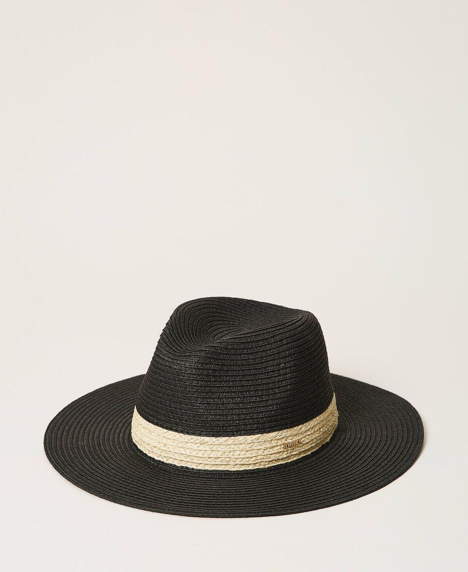 Straw hat Black Woman 211TO5090-01