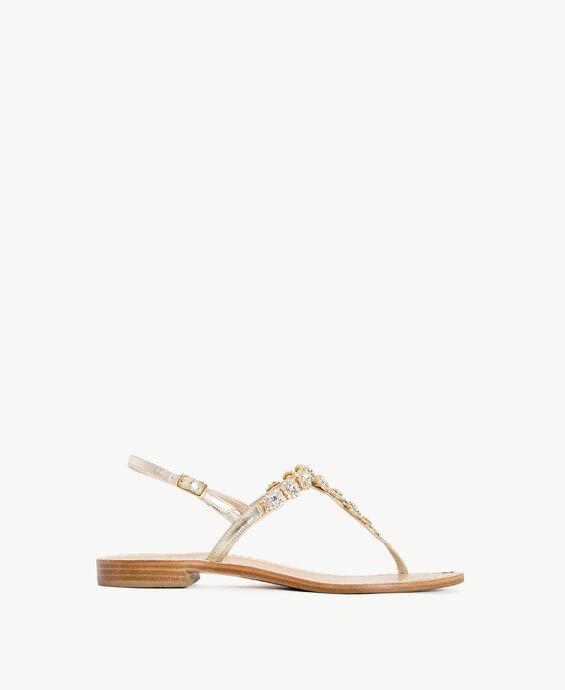TWINSET Rhinestones sandals
