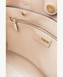 TWINSET Tasche aus Lederimitat Coffee Cream Beige Frau RS8TEQ-04