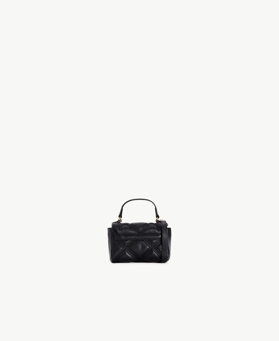 TWINSET Quilted satchel bag Black RA7TEC-03