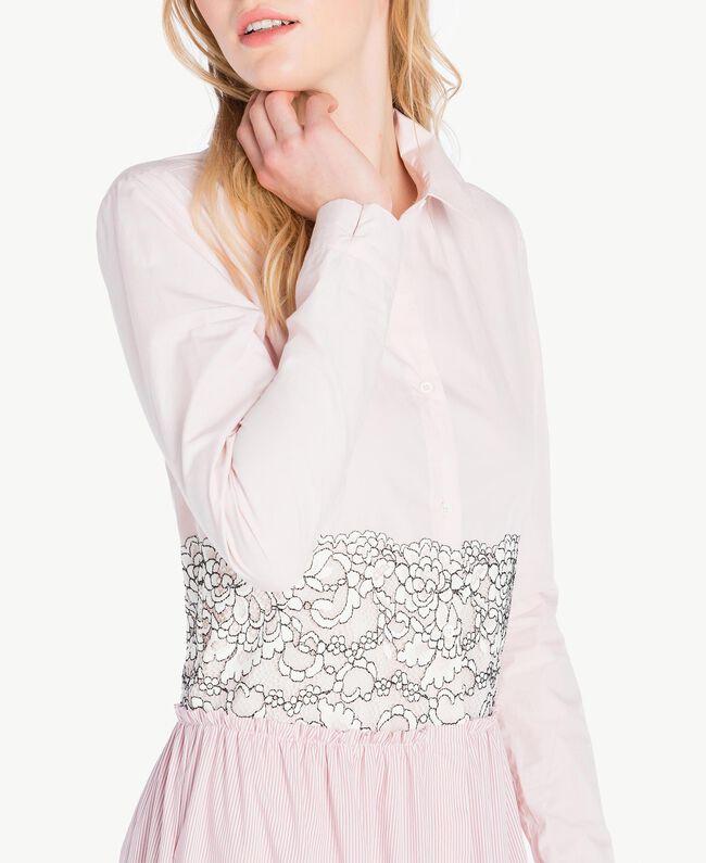 Robe longue patchwork Quartz Rose Femme JS82D7-05