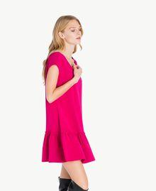 """Kleid mit Volant """"Anemonen""""-Fuchsia PA72TG-02"""
