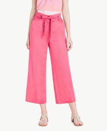 Envers satin trousers Provocateur Pink Woman TS823P-01
