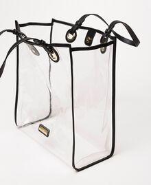Сумка-шоппер с сумочкой-вкладышем с логотипом Белый женщина 201TA7180-04