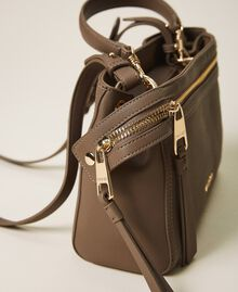 Small faux leather New Cécile bag Turtledove Woman 202TB7181-02