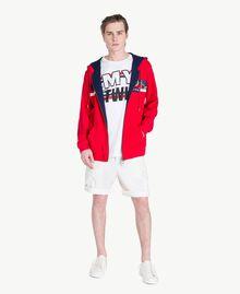 Logo t-shirt Matte White Man US8228-05