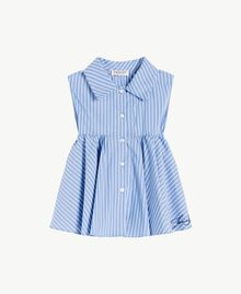 Striped top Infinite Light Blue Jacquard Child GS82LR-01