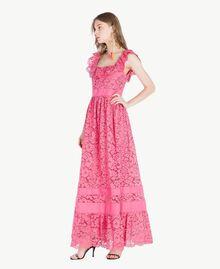 Robe longue dentelle Pink Provocateur Femme TS828N-02