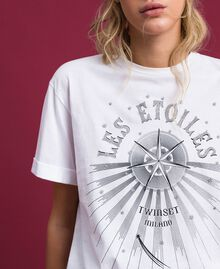 T-shirt with print White Woman 192TT2561-04