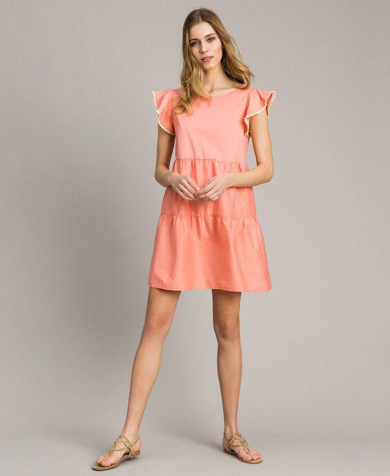 Kleid aus Popeline