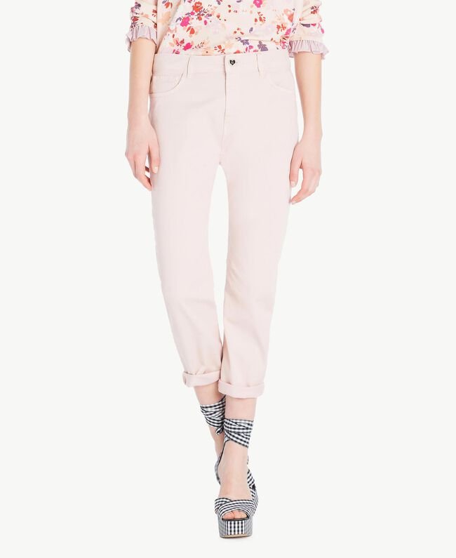 Girlfriend trousers Quartz Pink Woman JS82Z4-01