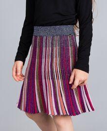 Jupe en lurex multicolore Multicolore Lurex Enfant GA83KQ-04