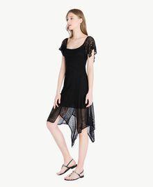 Robe viscose Noir Femme TS83AB-02