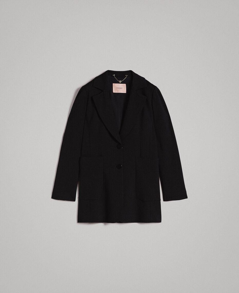Giacca blazer lunga Nero Donna 191TP2420-0S