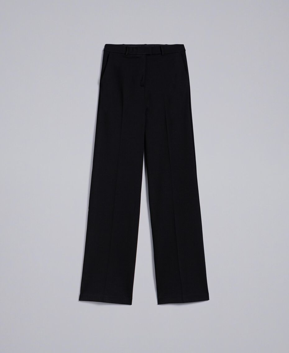 Milan stitch trousers Black Woman PA8218-0S