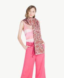 "Printed scarf ""Hippie Arabesque"" Print Woman OS8T2U-02"