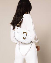 Large Rebel shoulder bag White Snow Woman 201TA723J-0S