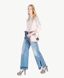 Wide leg jeans Denim Blue Woman JS82WZ-05