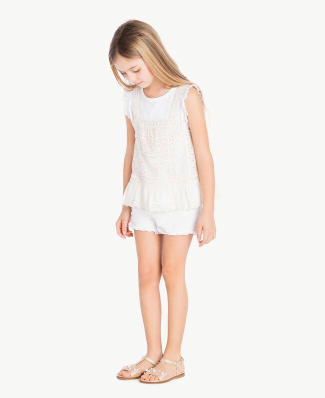 Pearl sandals Platinum Child HS88EQ-04