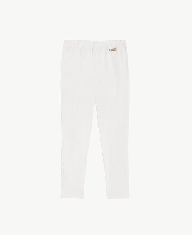 Skinny trousers Pale Cream Child GS82HP-01