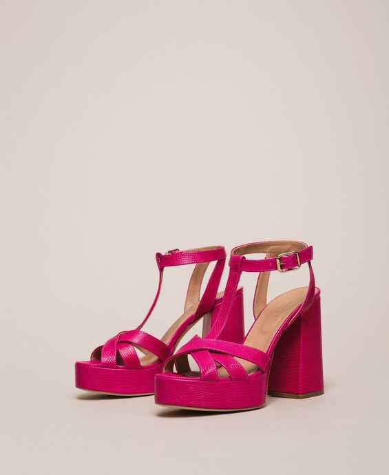 Sandales Salomé en cuir