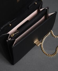 Small shoulder bag with butterfly shaped turn lock Black Woman 192TA7022-04