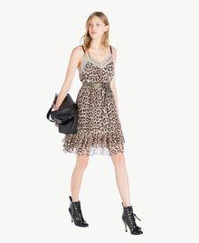Vestido animal print Estampado Mácula Mujer PS82VA-05