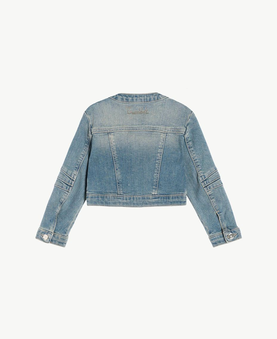 "Denim jacket ""Mid Denim"" Blue Child FS82T1-02"