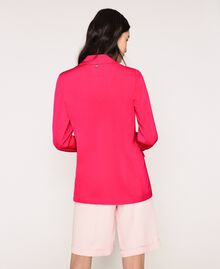 Satin blazer Wild Rose Woman 201MT2031-04