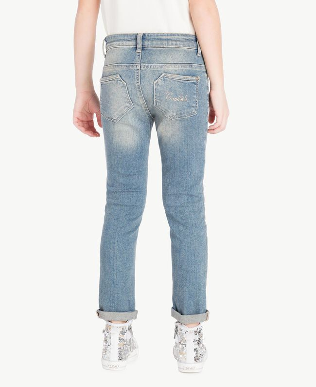 "Skinny-Jeans Mittleres ""Denimblau"" Kind GS82T3-04"
