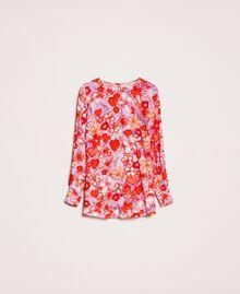 Blouse avec imprimé floral Imprimé Reve / Roses Femme 201TQ2020-0S