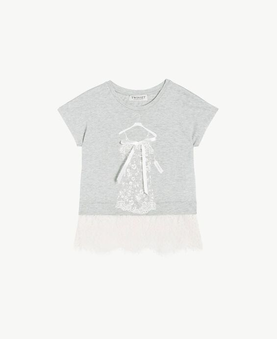 T-shirt dentelle