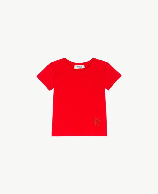 T-shirt coton Rouge Grenade Enfant FS82BA-01