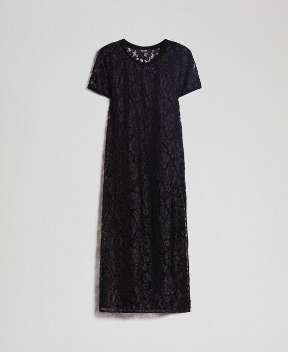Robe en dentelle avec fond de robe