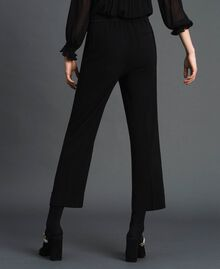 Georgette trousers Black Woman 192TP2387-03