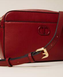 "Shoulder bag with pocket ""Geranium"" Red Woman 212TB7067-05"