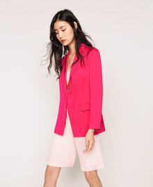 Satin blazer Wild Rose Woman 201MT2031-03